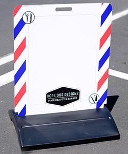 Kopious design footpath signs